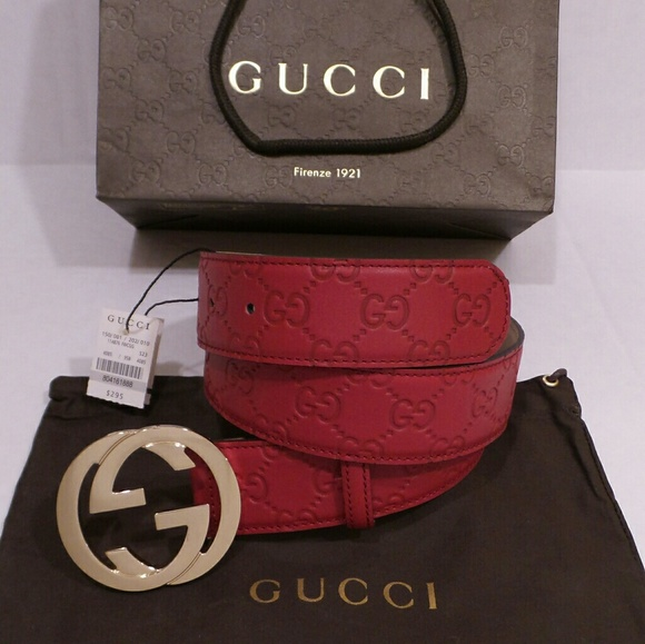 8297e8d66 Gucci Accessories | 28 30 Waist Belt Red Sz 85 Good Condition | Poshmark